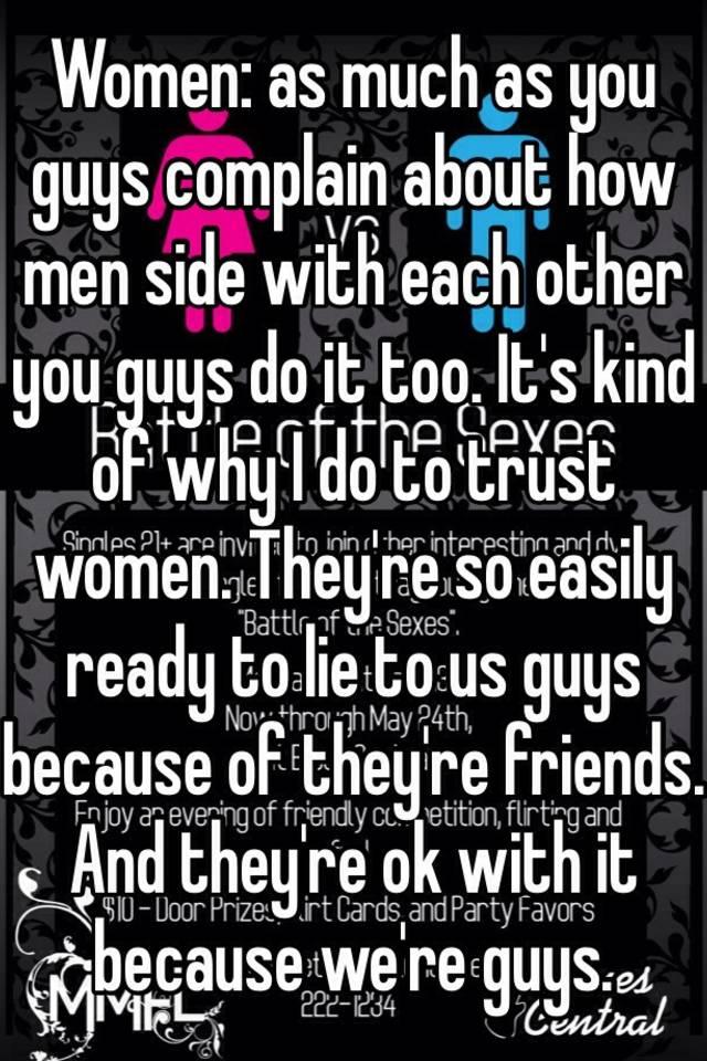 Why Do Women Lie So Much