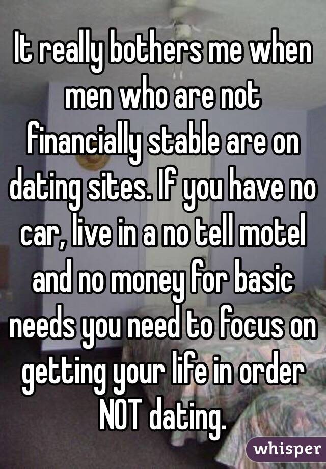 Dating without money