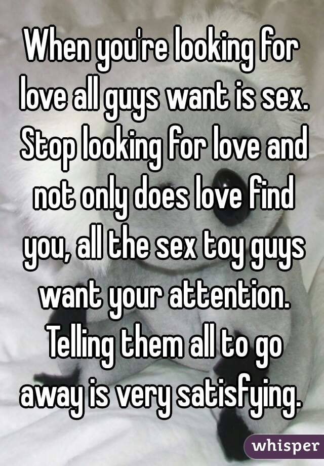 Boys looking for love