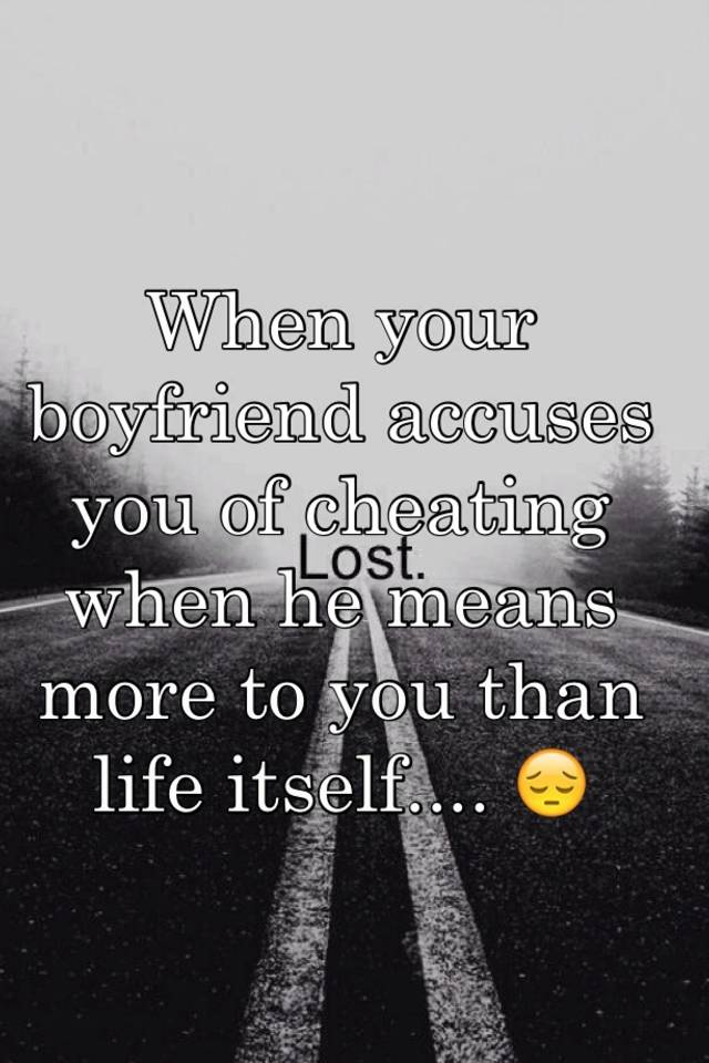 What is the definition of cheating on your boyfriend