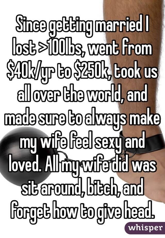 Make my wife feel sexy