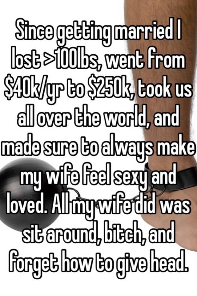 Make wife feel sexy