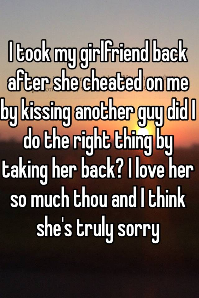 How to get wife back after she cheated