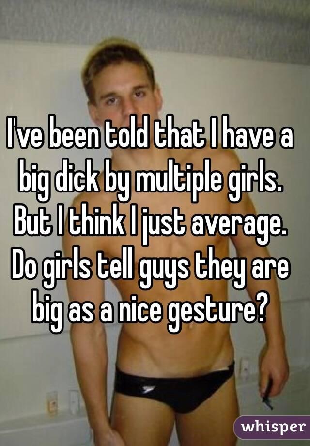 Why do girls like big penis