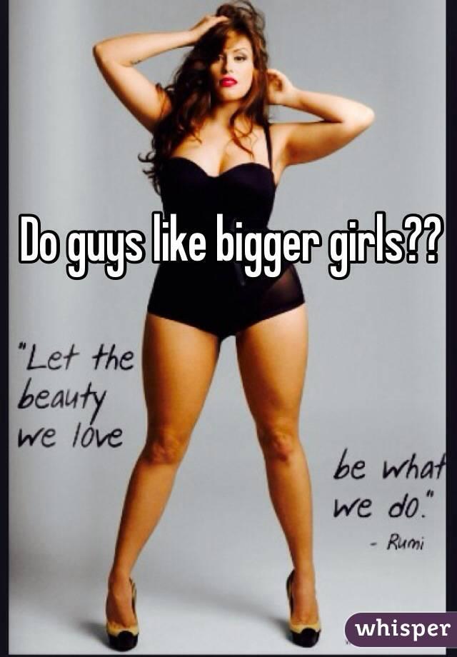 why do guys like thick girls
