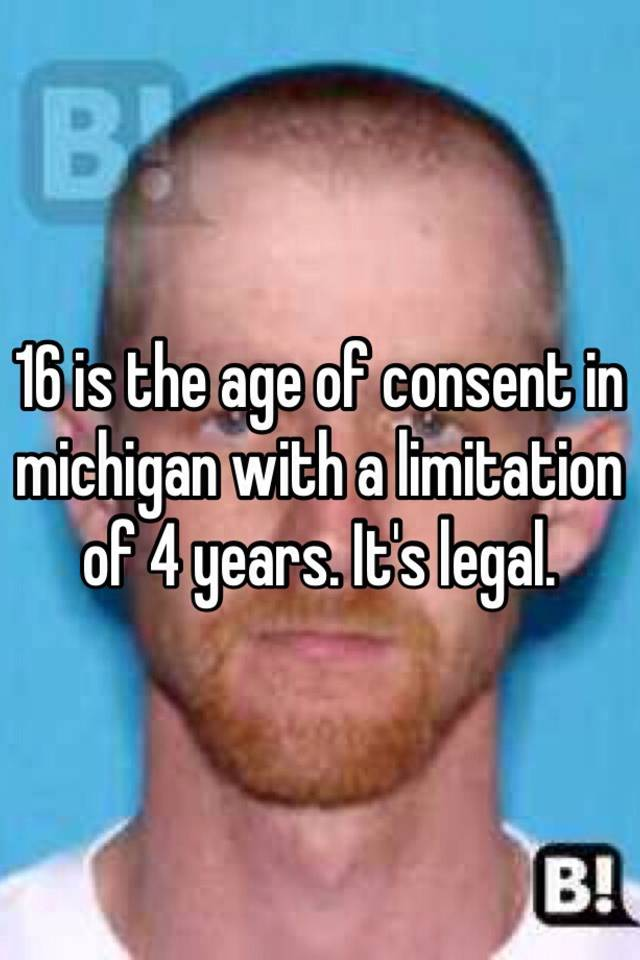 Legal age for sex in michigan