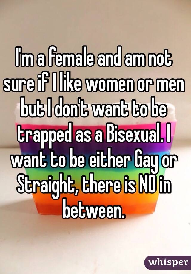 I want to be bisexual