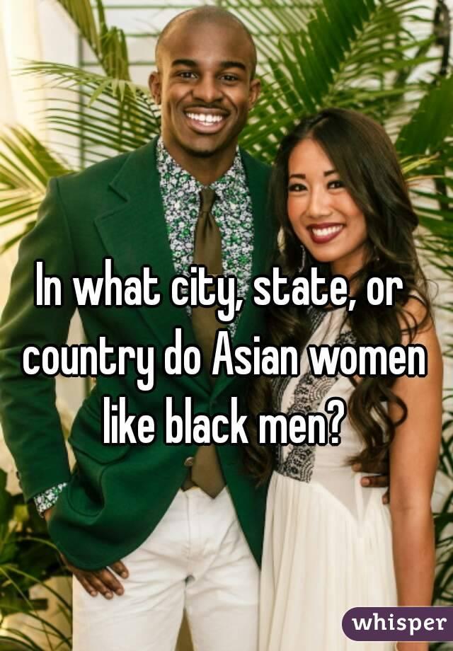Men prefer asian women