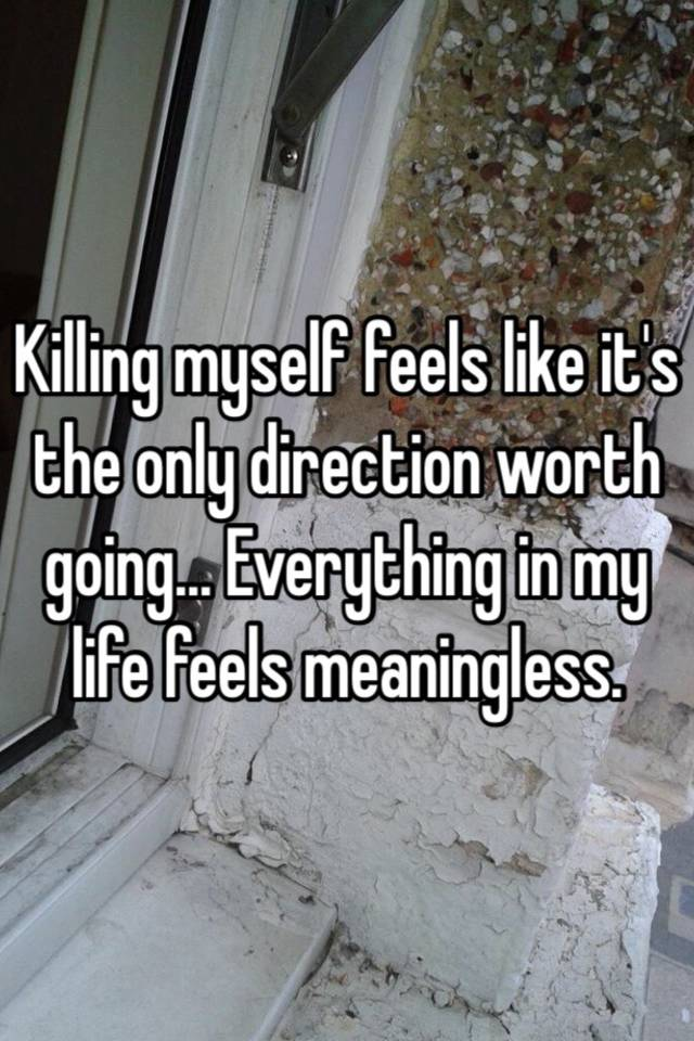 what to do when life feels meaningless