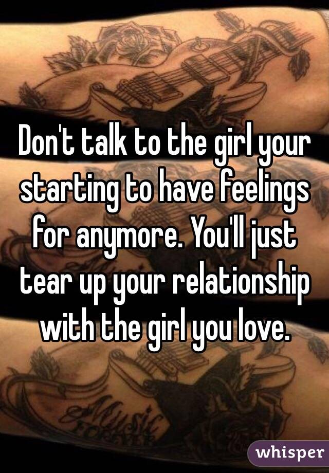 Starting A Relationship With A Girl