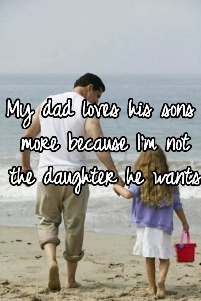 Daddy loves his daughters