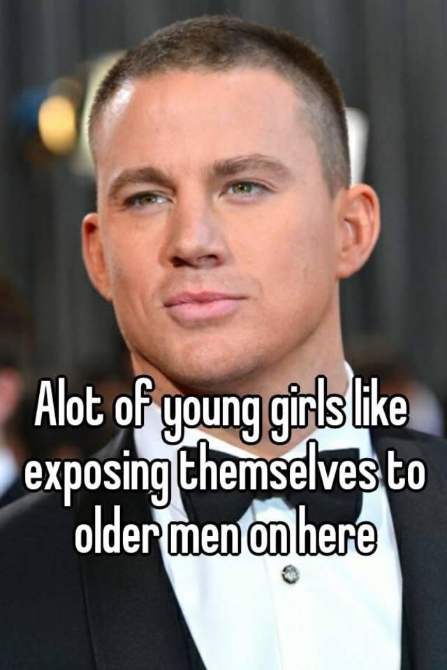 Advise Little girls exposing themselves