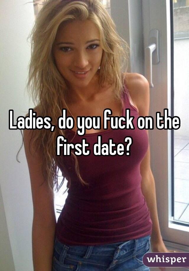 Do U Fuck On First Dates
