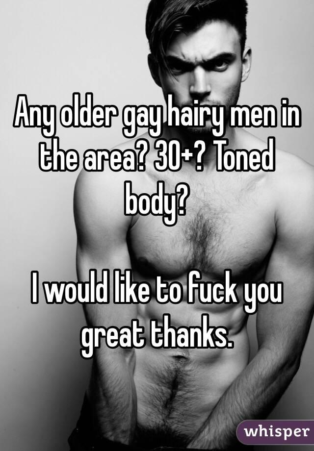 Hairy men over 30