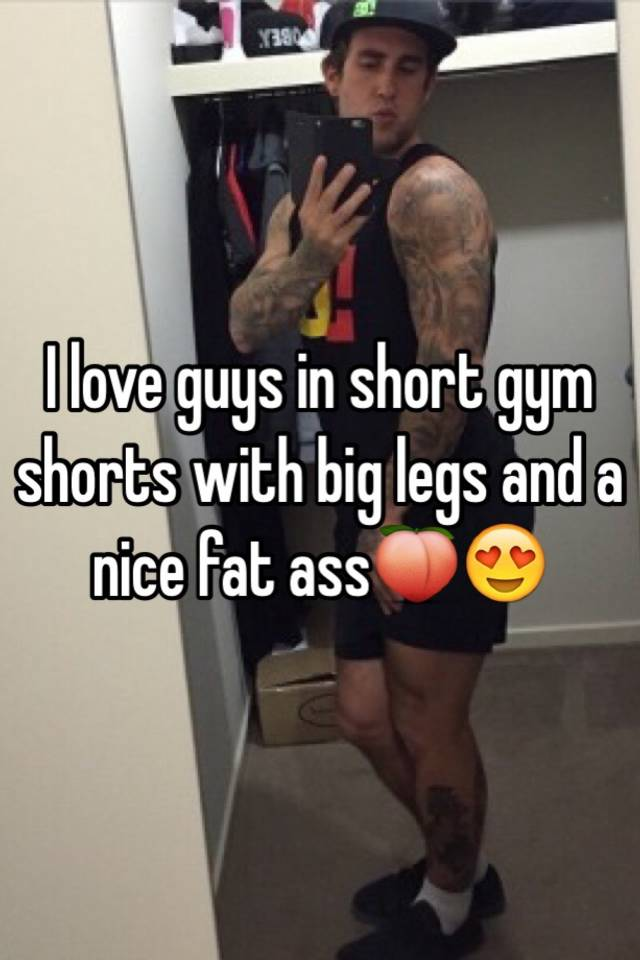 Guys with big asses