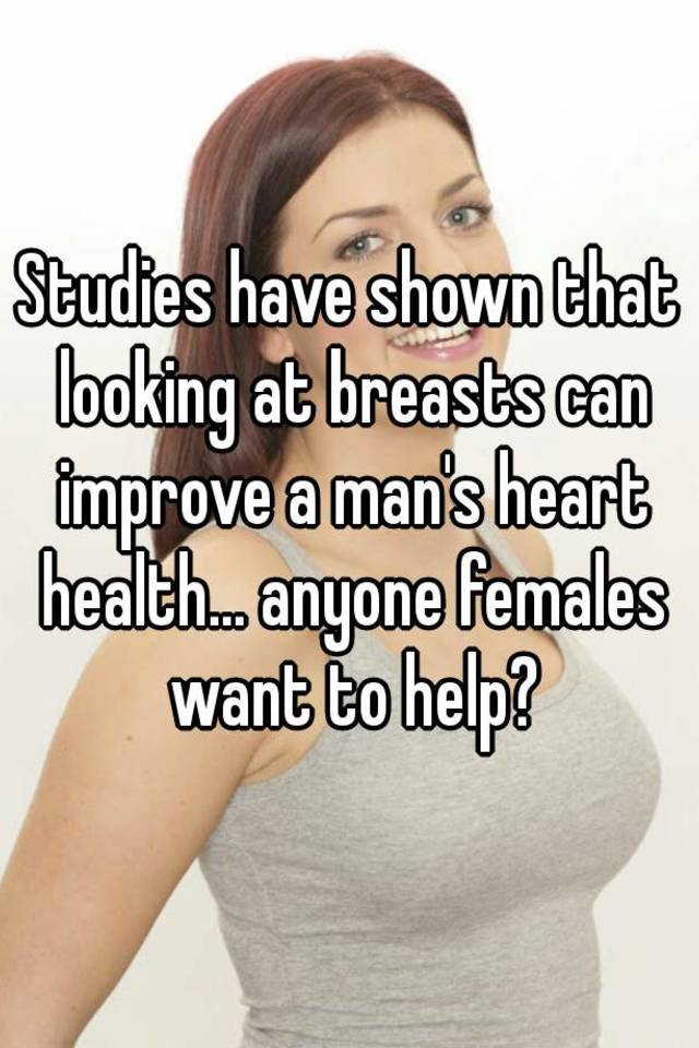 Breast men heart health