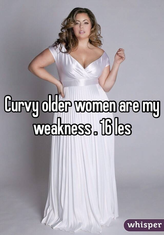 Curvy older ladies