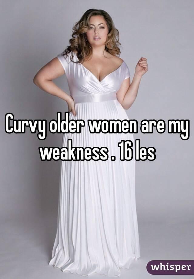 Curvy older ladies