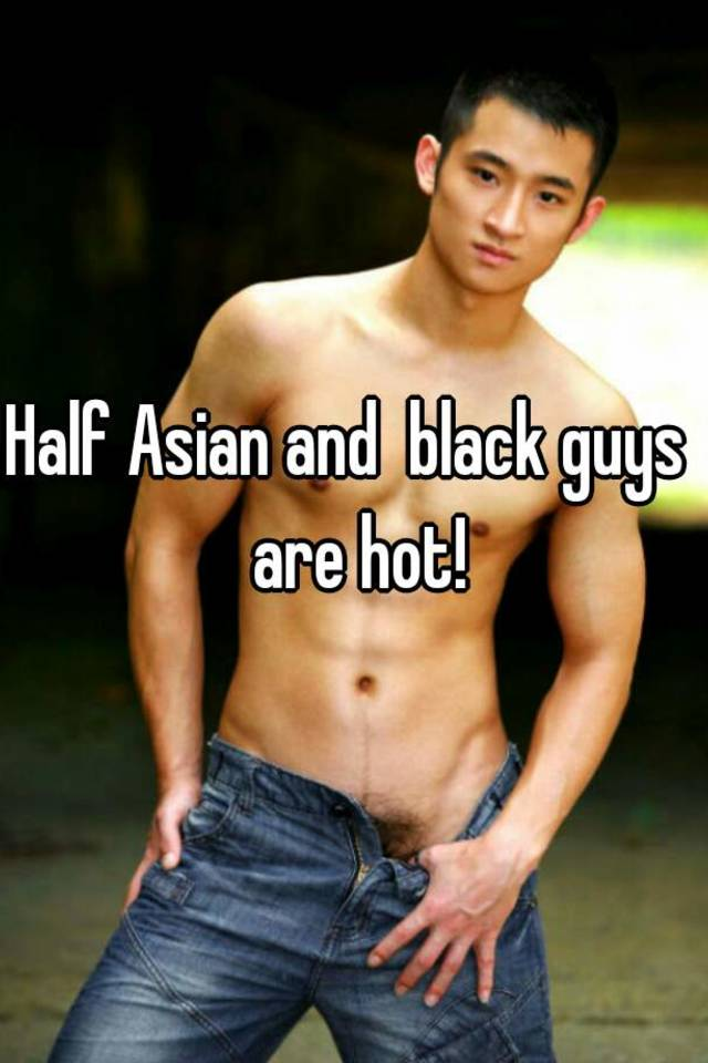 Hot asian black