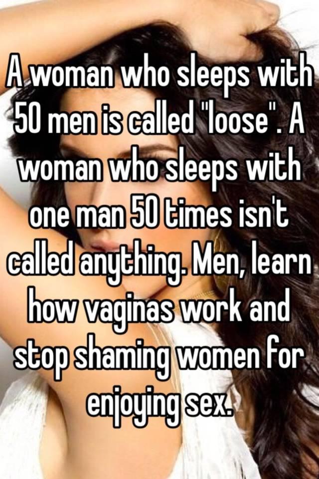 woman who sleeps around