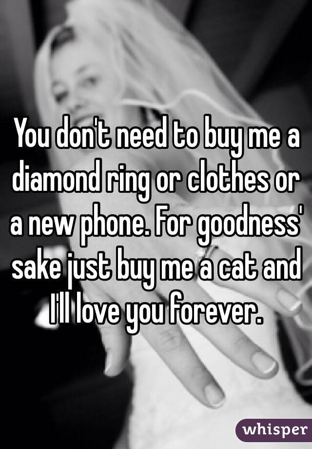 Buy me a ring