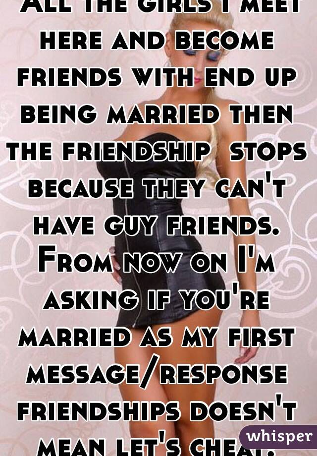 Meet guy friends