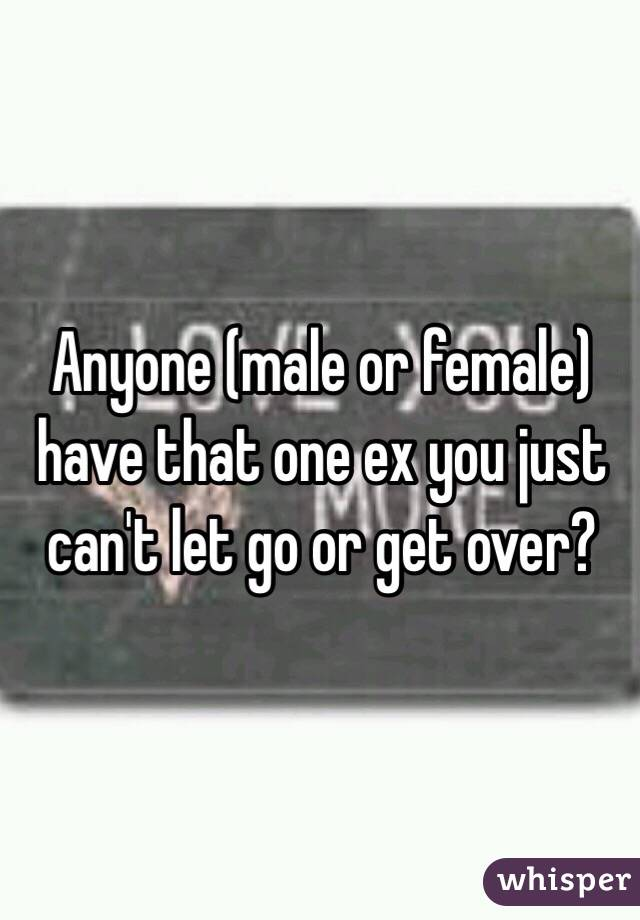 Ex Get Can T Over Husband My youre