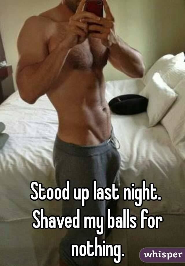 Picture shaved balls