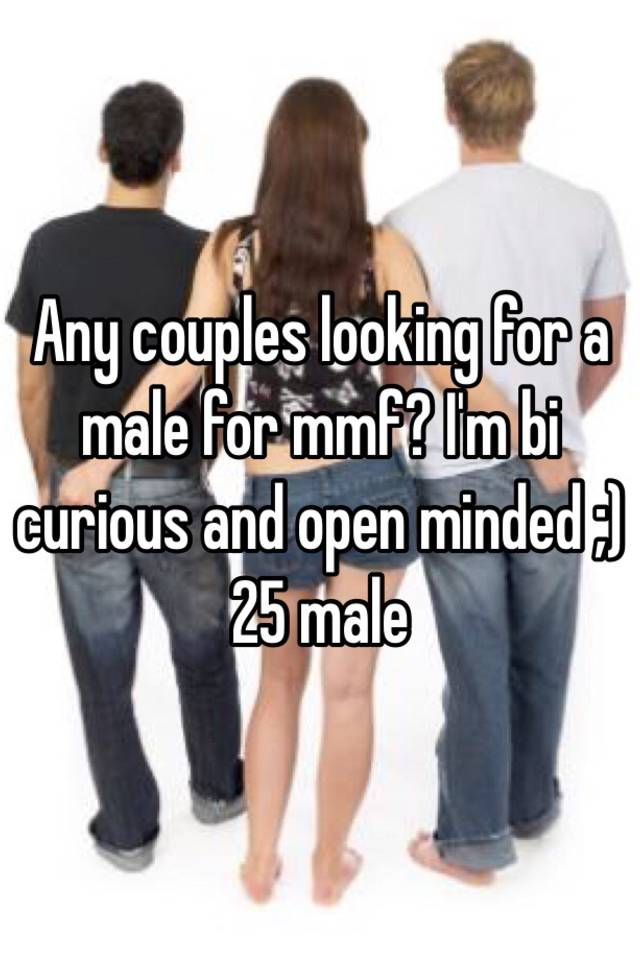Open minded couples