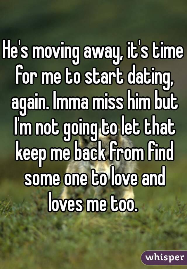 dating moving away