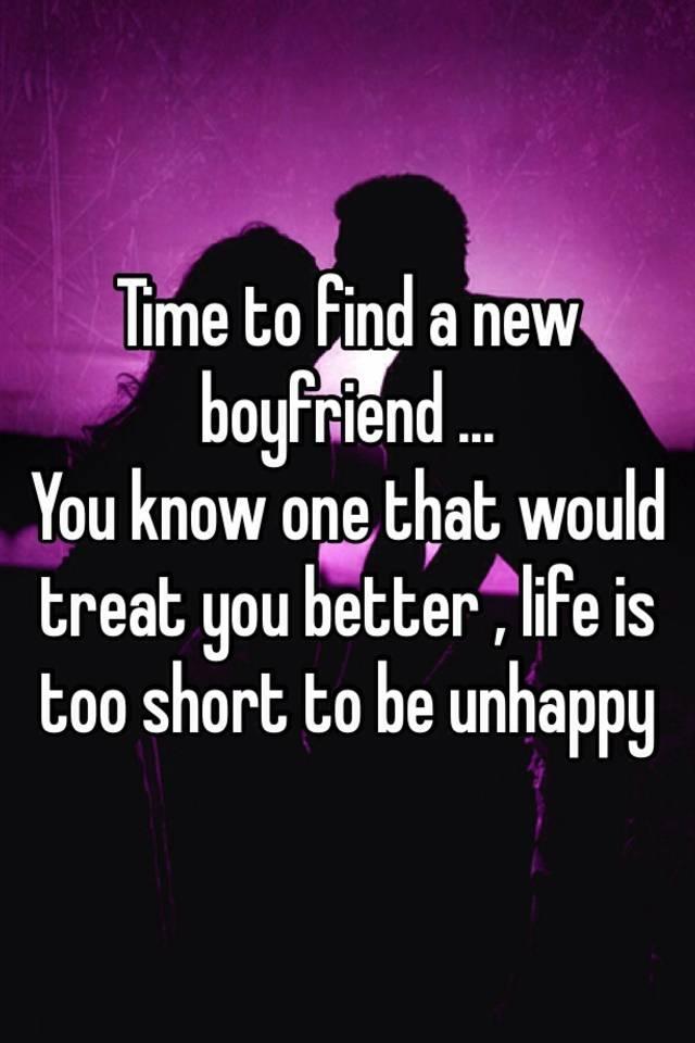 how to treat a new boyfriend