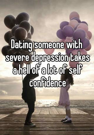 Dating a man with clinical depression