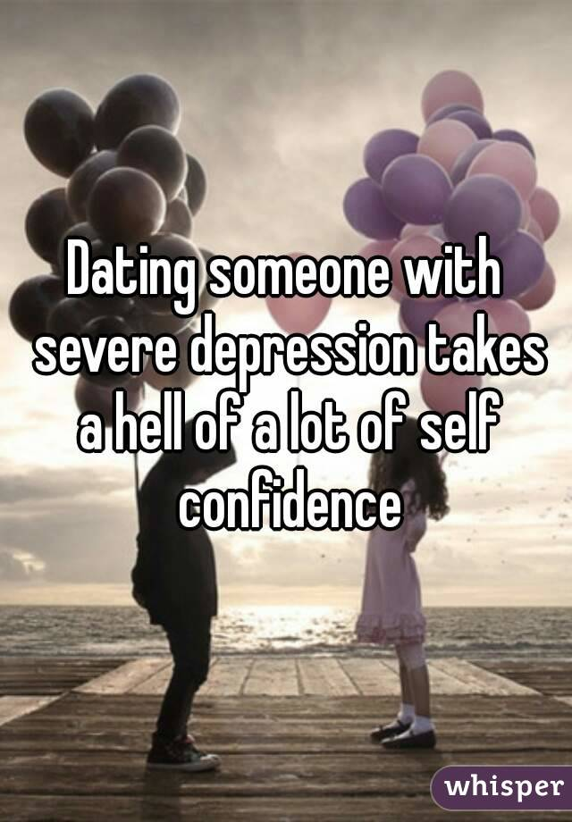 Dating a girl with clinical depression