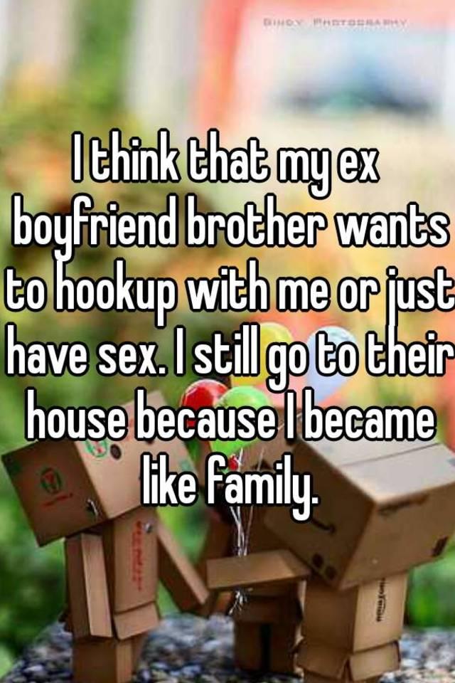 Why is my ex boyfriend hookup already