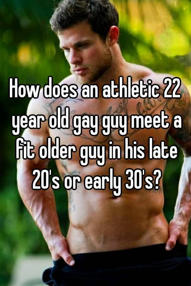 How to meet gay guys