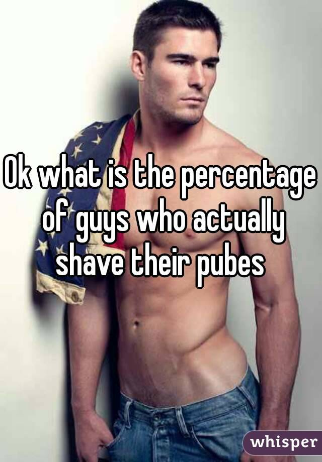 Shaved male pube photo are