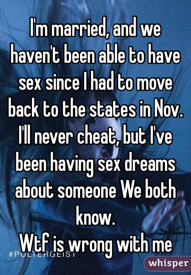 why am i having dreams about sex