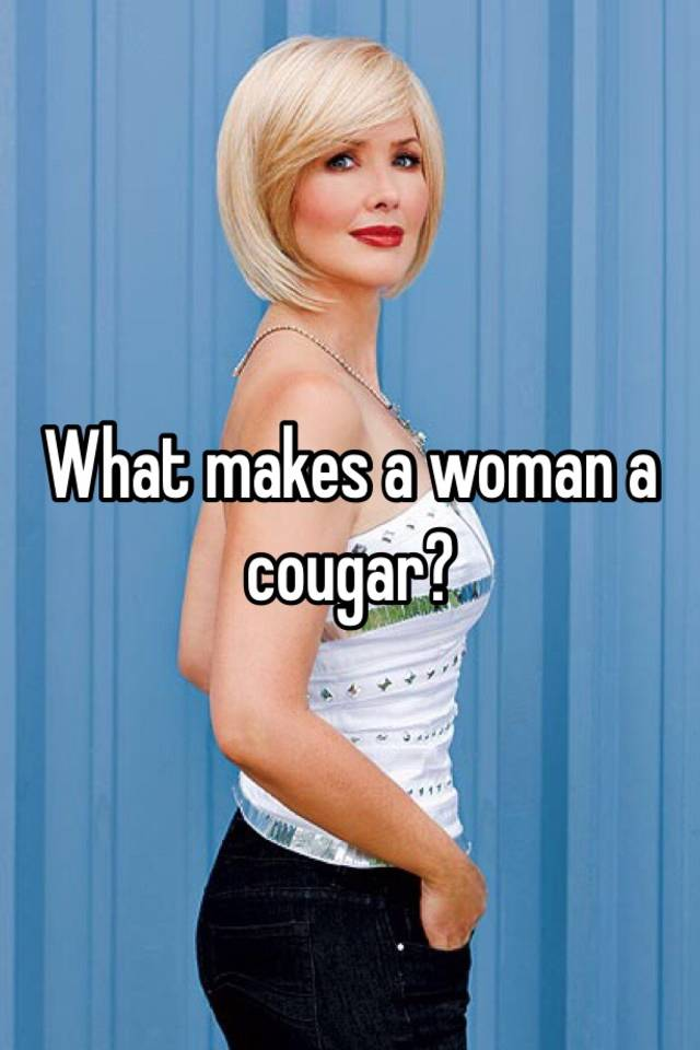 What is a cougar lady