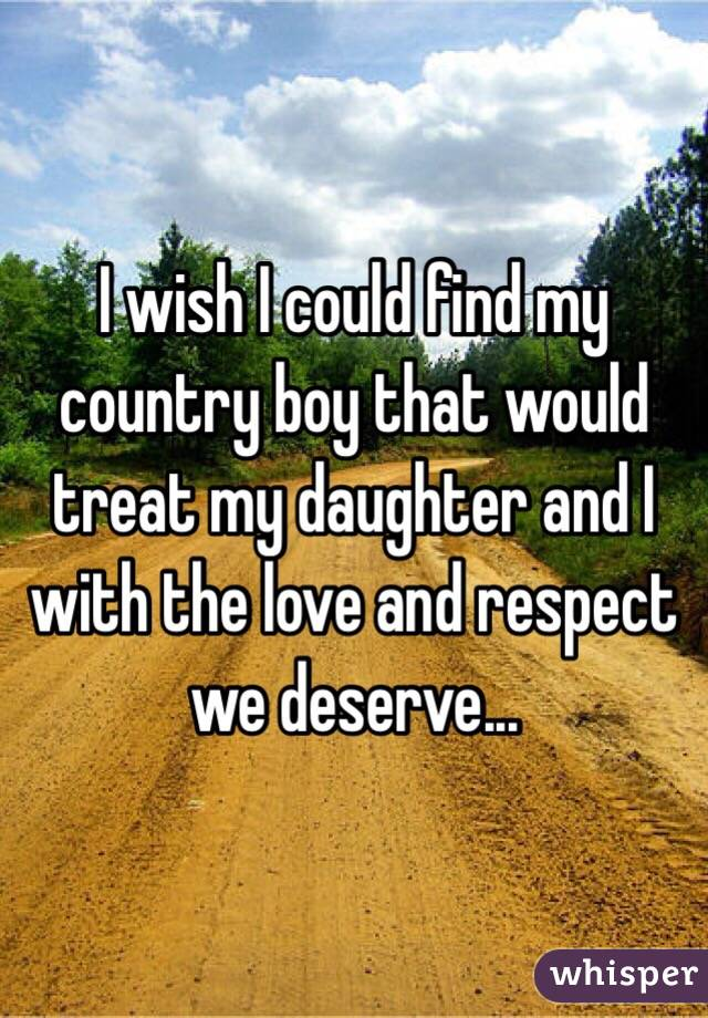 how to find a country boy
