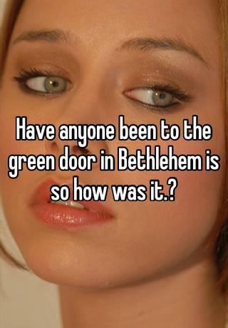 Bethlehem green video door Christmas