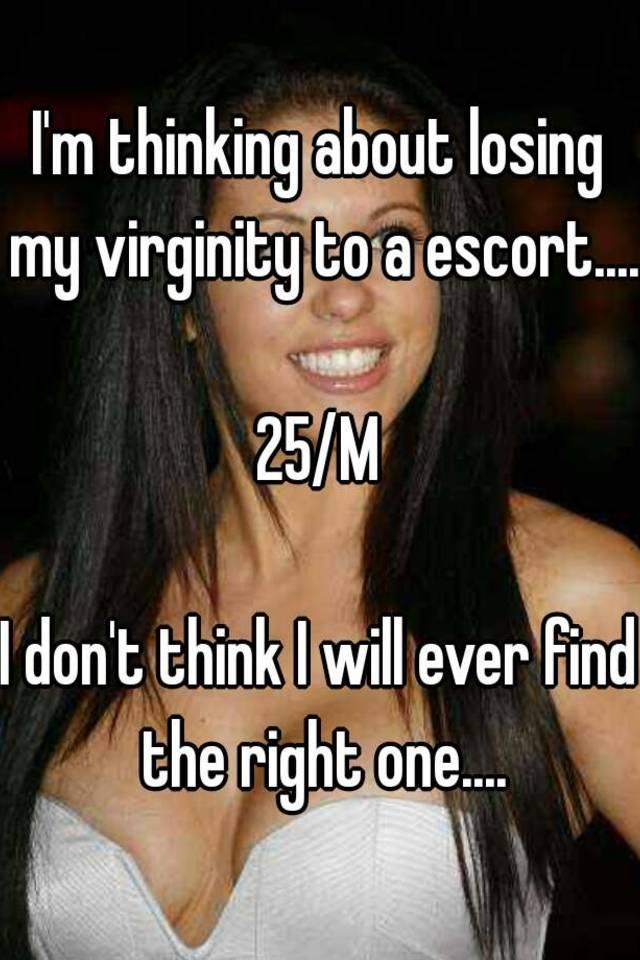 Lose virginity to escort