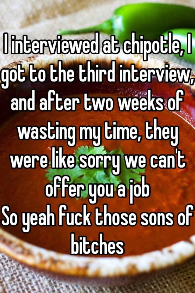 third interview