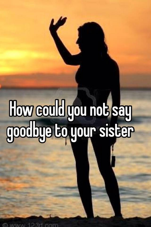 saying goodbye to your crush