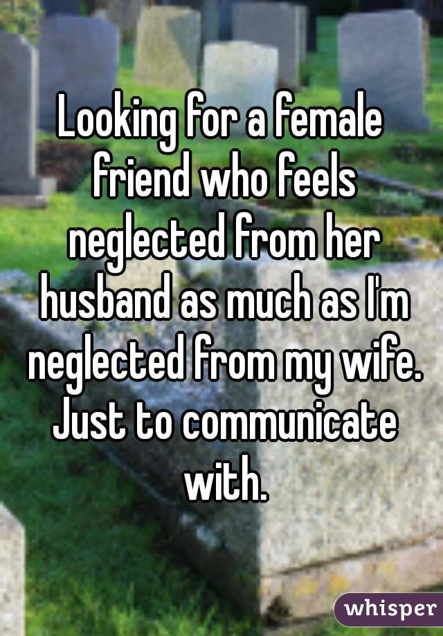 when a husband neglects his wife