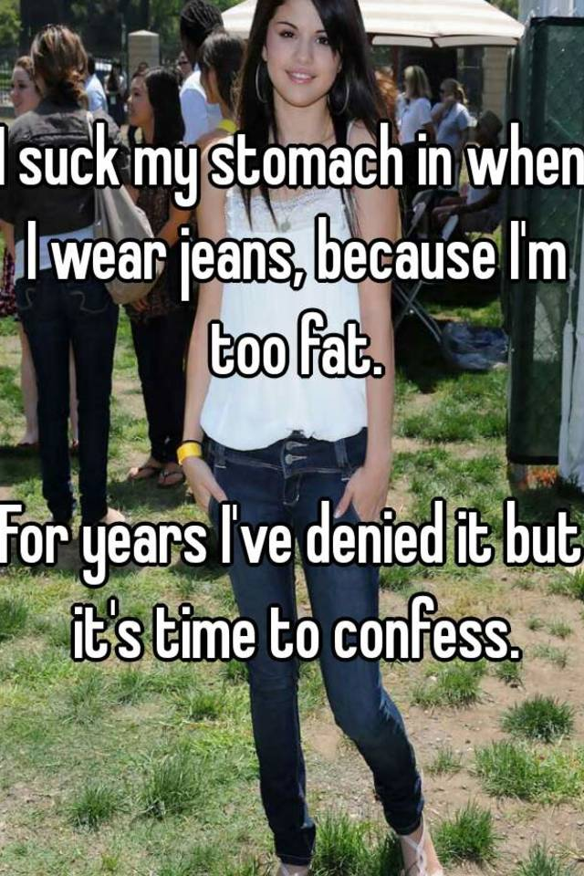 too fat to suck