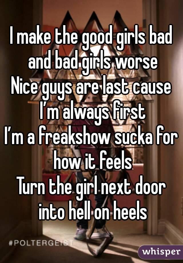 How To Make A Good Girl Bad