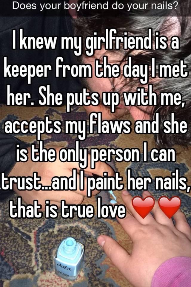 Girlfriend keeper