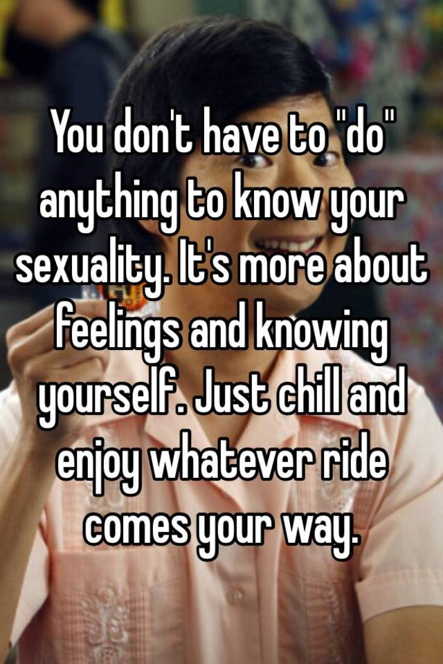 How to get more in touch with your sexuality