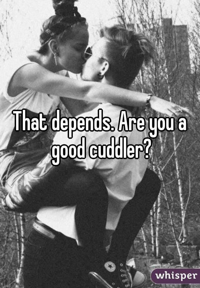 How to be a good cuddler