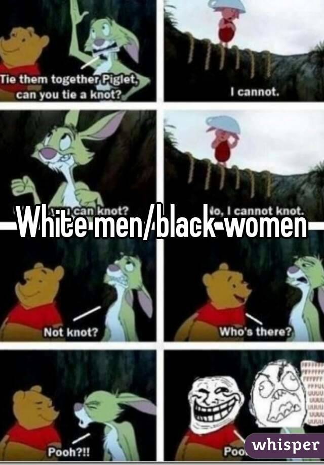 Black white men and women together amusing